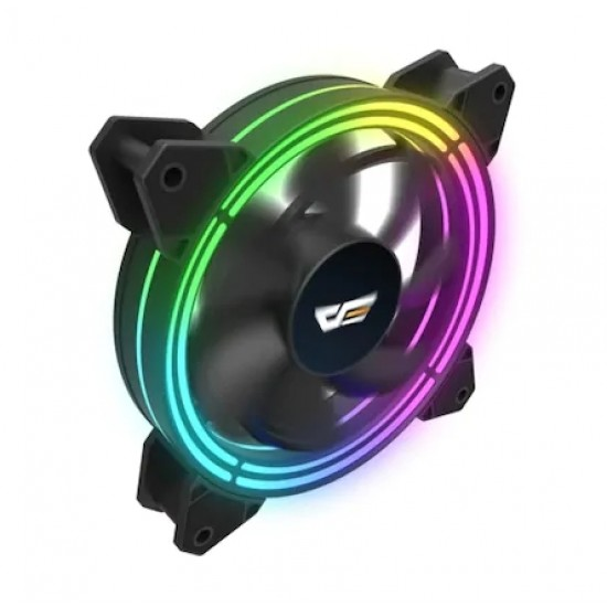 Aigo - DarkFlash 120mm RGB LED Kasa Adreslenebilir Fan CF11 PRO 4in1 Kit