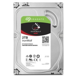 Seagate IRONWOLF 3,5 2TB Harddisk 64MB 5900RPM ST2000VN004